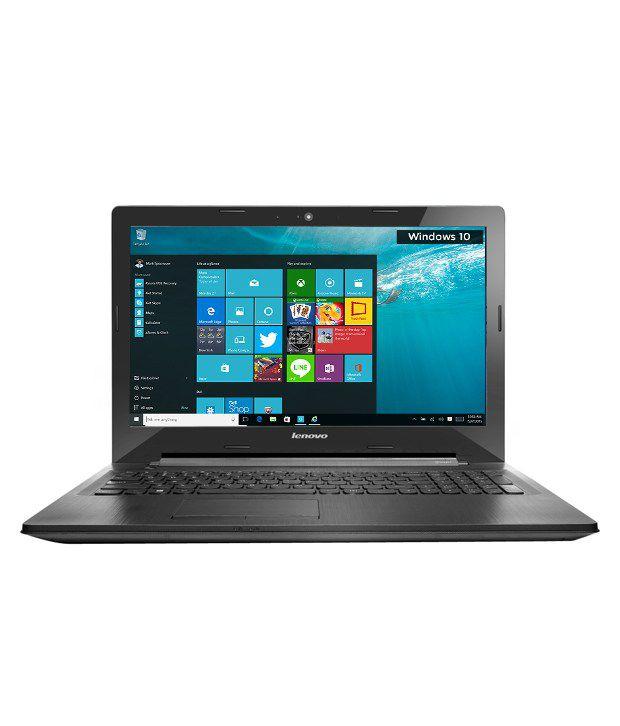 Lenovo G50 Y700-15ISK Notebook (80E3020BIH) (AMD APU A8- 4GB RAM- 1TB HDD- 39.62 cm (15.6)- Windows 10) (Black)