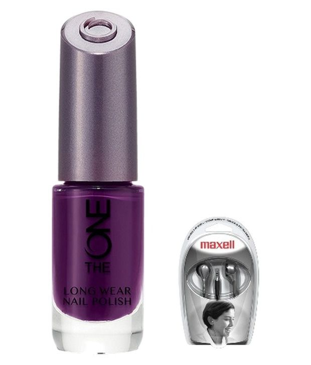 Oriflame The One Long Wear Nail Polish (Purple In Paris) - 30532 ...