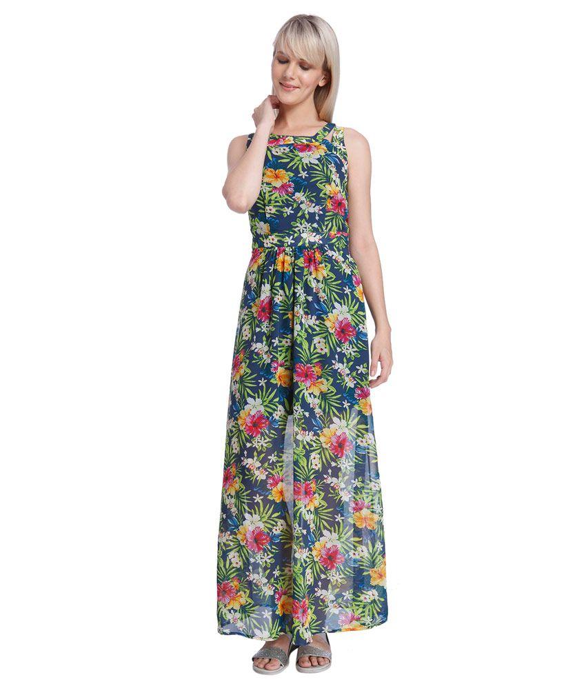 Maxi floral dresses india