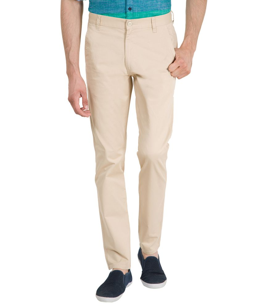 Highlander Off White Slim -Fit Chinos