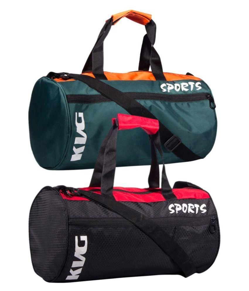 KVG Sports Multi Color 20 litre Gym Bag