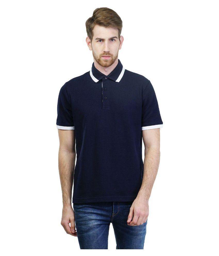 Puma Navy Polo T Shirts