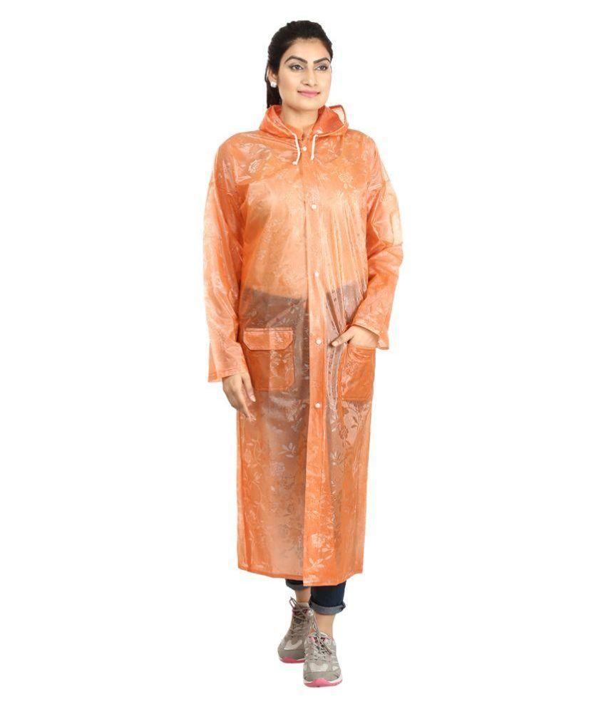 Rainfun Orange Raincoat