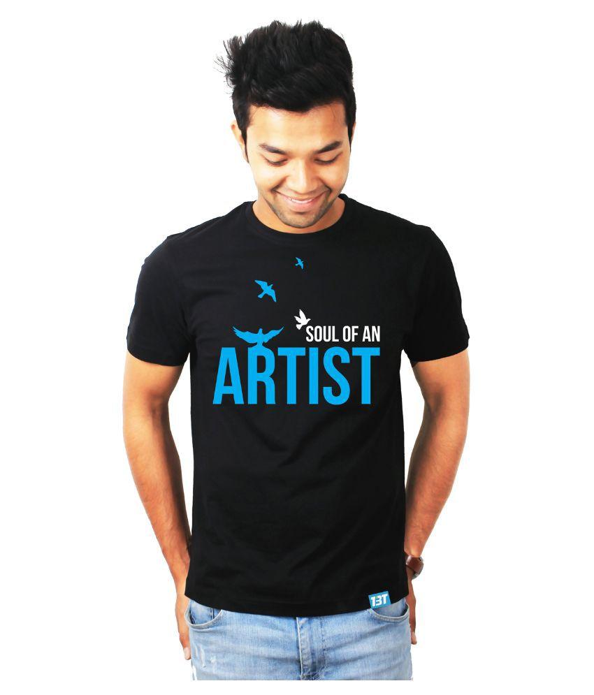 The Banyan Tee Black Round T Shirt