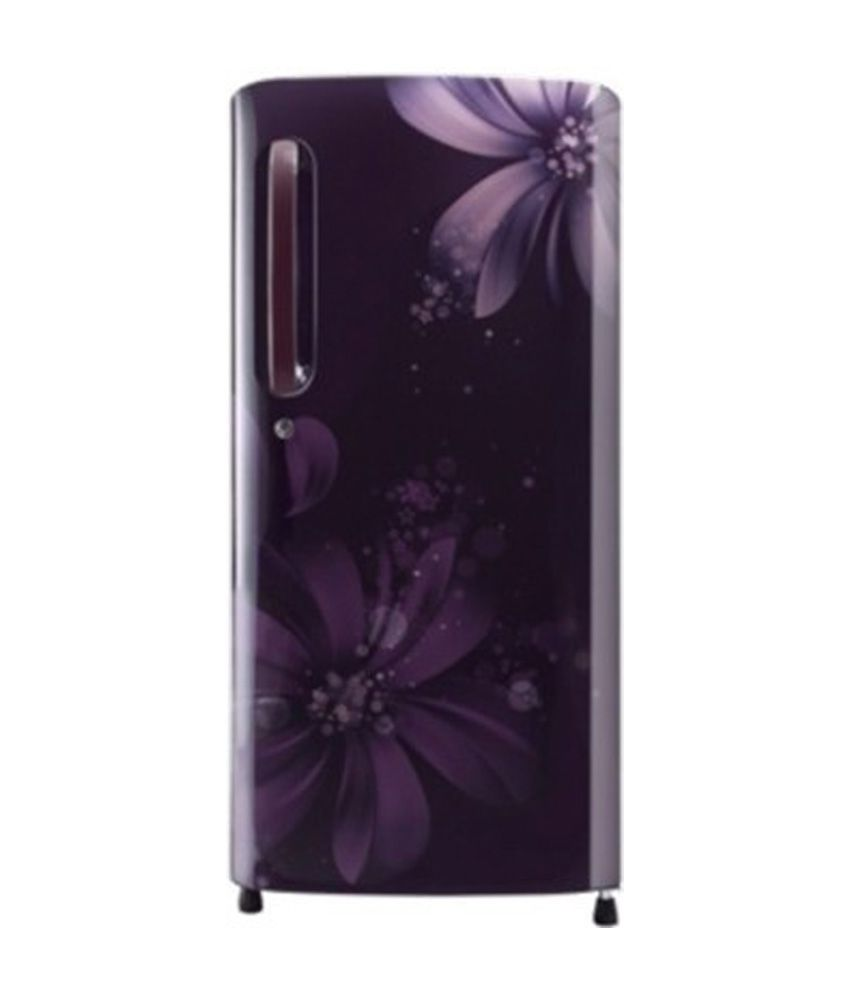 LG 215 Ltr 5 Star GL-D221APAN  Single Door Refrigerator - Purple Aster