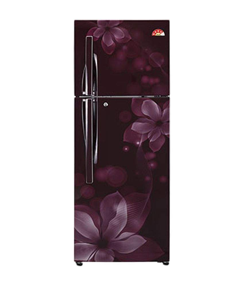 LG 310 Ltrs GL-U322JSOL Frost Free Double Door Refrigerator Scarlet Orchid