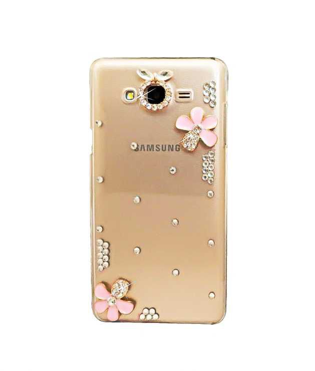 new product efddd fa0fb Samsung J5 (2015) Pink Flower Girls Fancy Designer Back Case