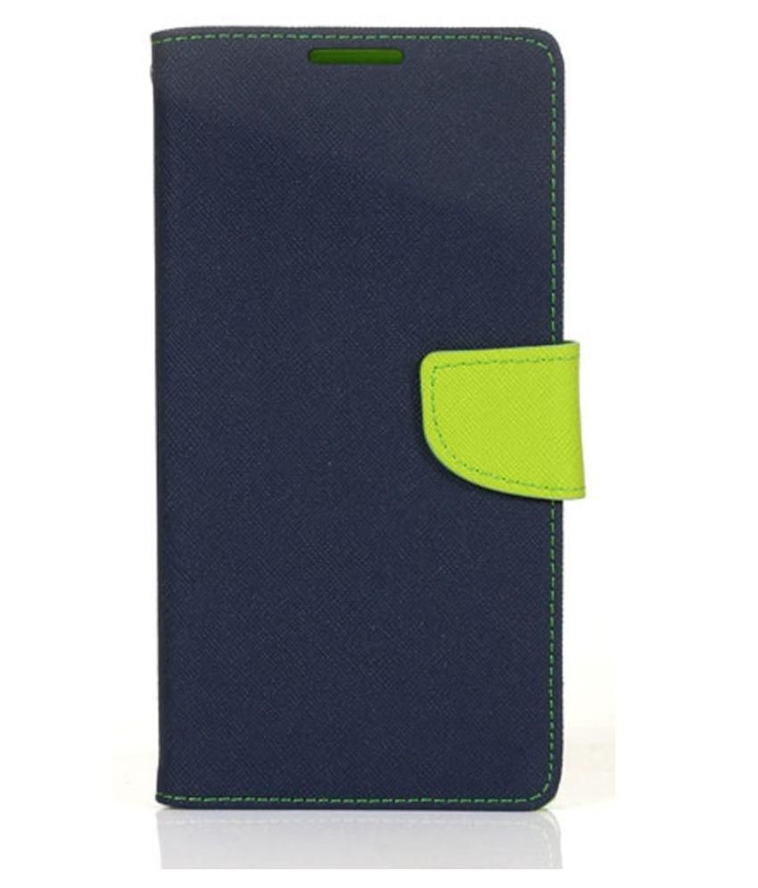 Schofic Flip Covers For Sony Xperia C - Blue
