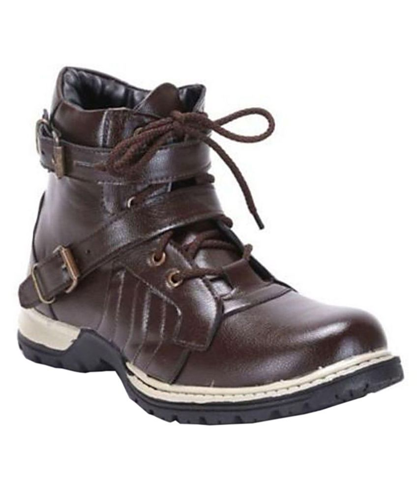 Desi Saga Brown Boots