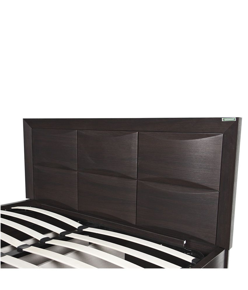 spacewood helix king size storage bed - buy spacewood helix king
