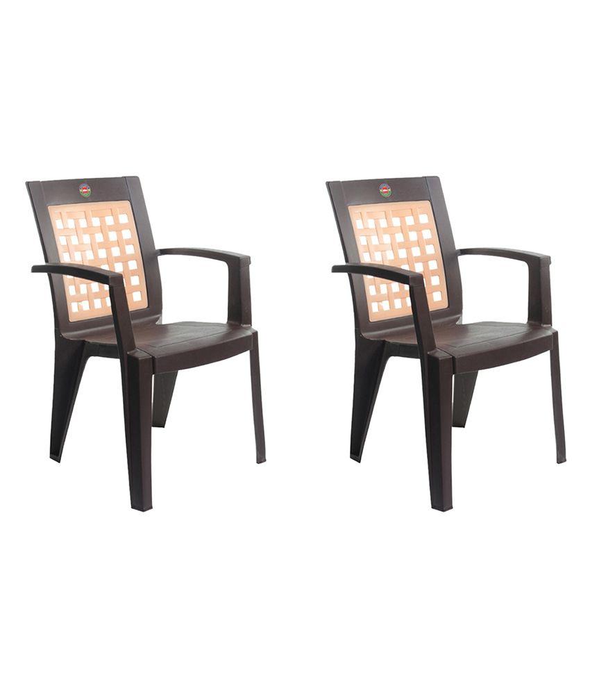 Cello Impact Plastic Chair Set Of 2