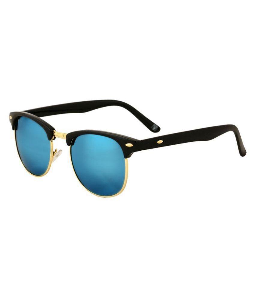 Hh Blue Oval Sunglasses ( Clubmastermrcryblu01 )