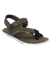 Shoegaro Green Sandals
