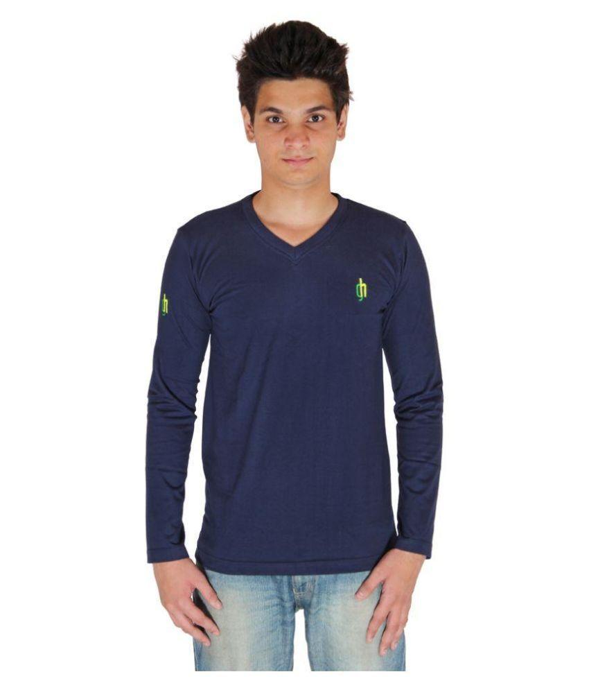 Green House Navy V-Neck T Shirt