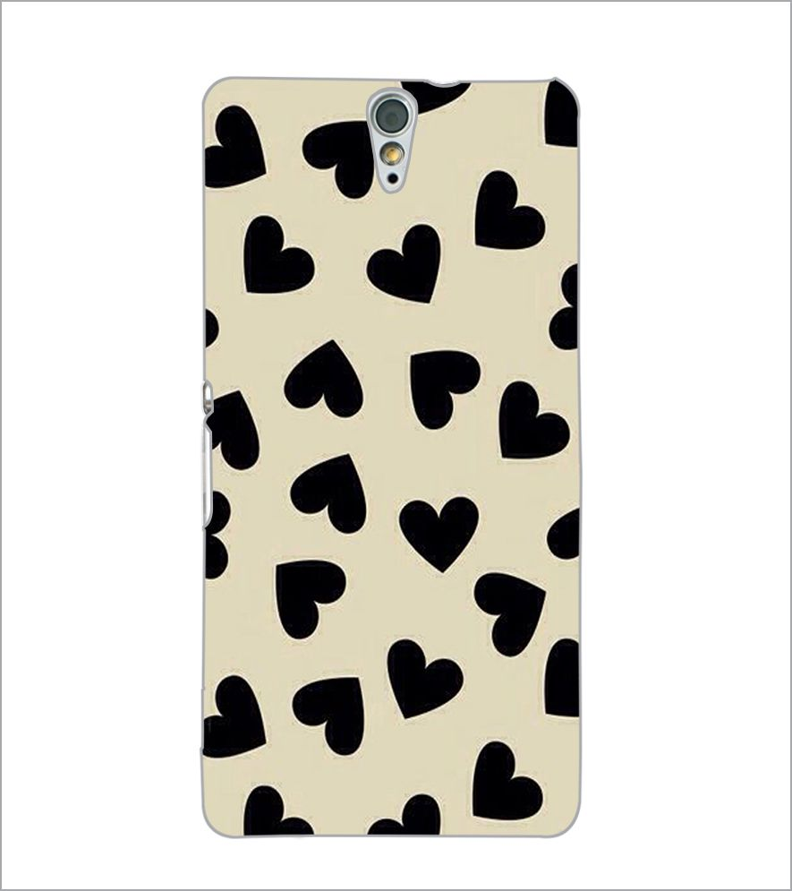 finest selection b736a 561c1 PrintDhaba Heart Design Back Case Cover for SONY XPERIA C5 ULTRA ...