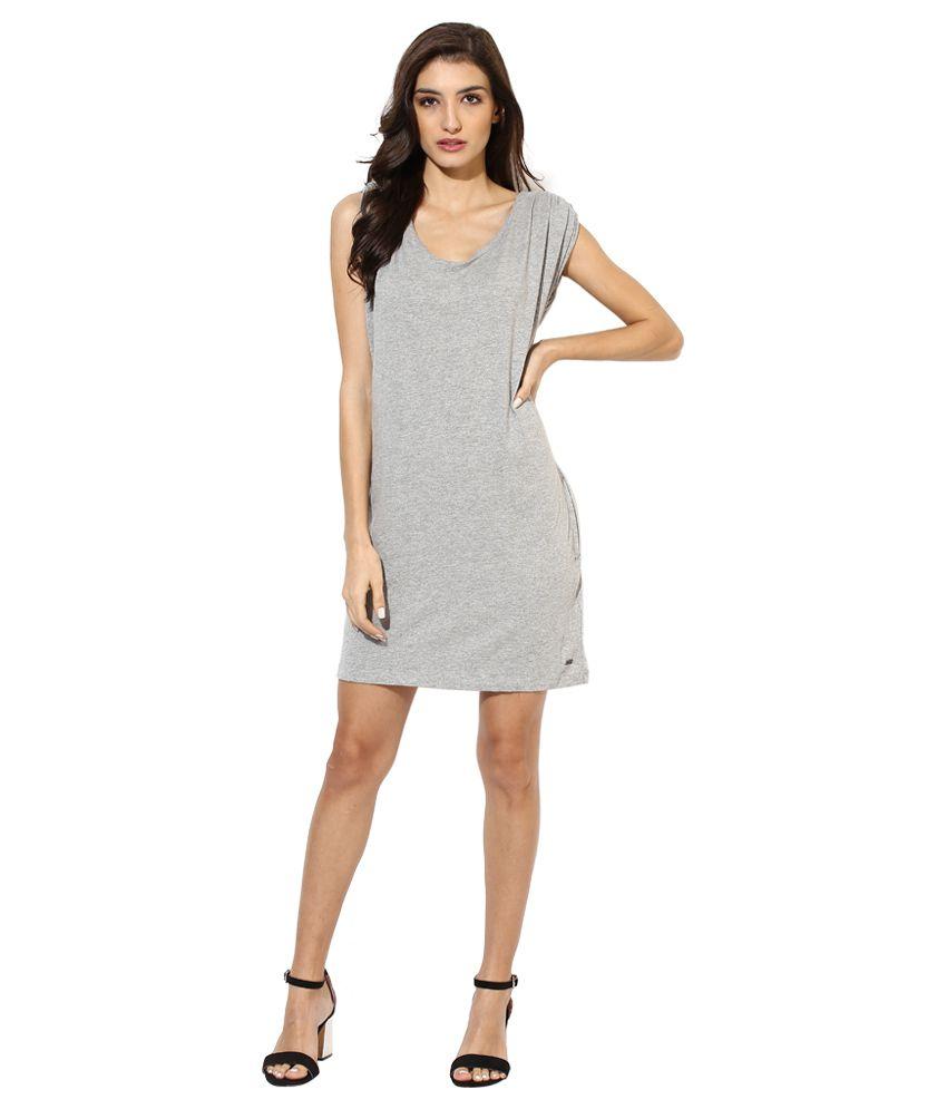 Roxy Gray Tunic Dress