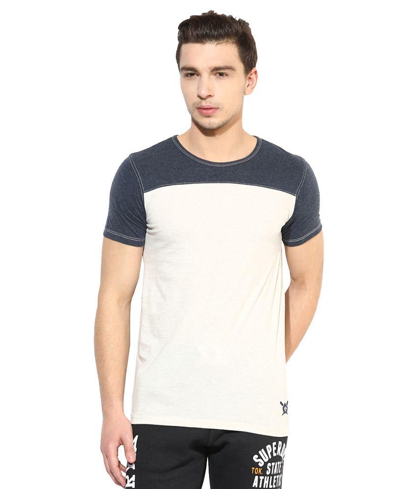 Monteil & Munero Beige Round T Shirt