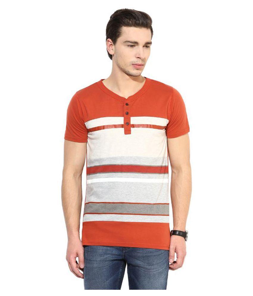 Monteil & Munero Multi Henley T Shirt
