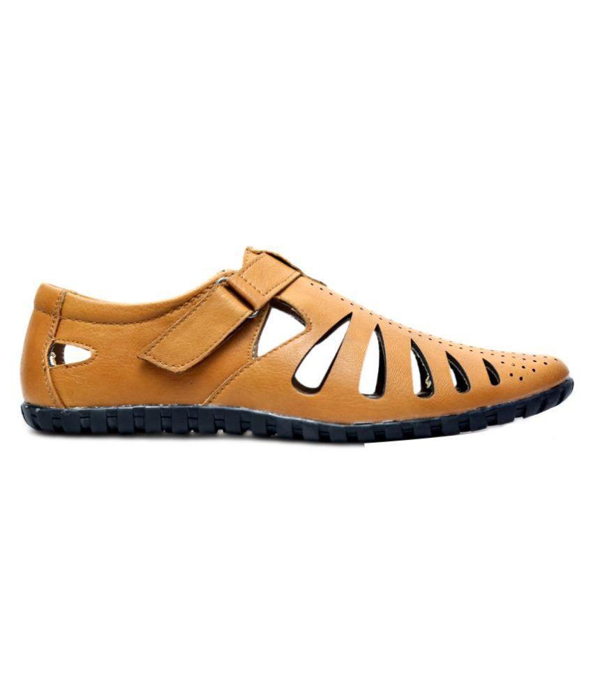 39975cfa760f Peponi Tan Sandals Price in India- Buy Peponi Tan Sandals Online at ...
