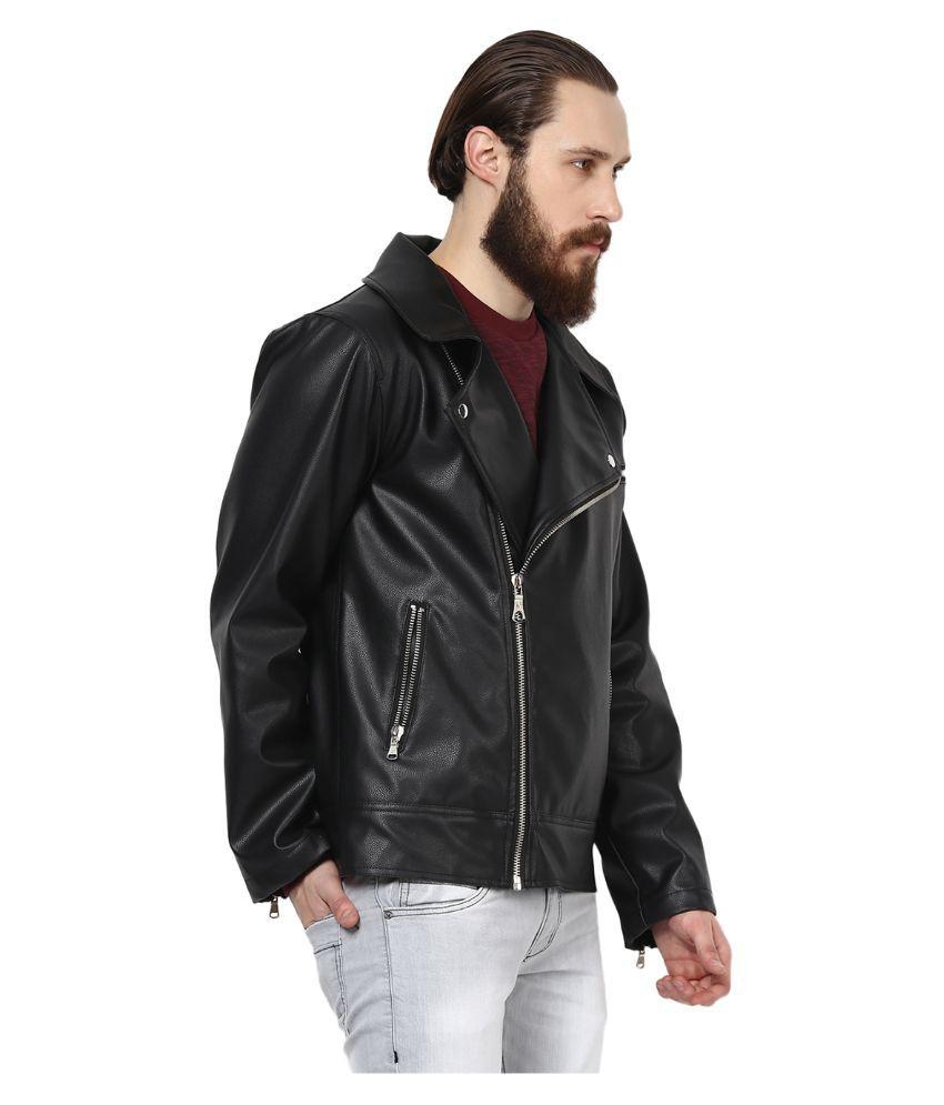Leather jacket yepme - Yepme Black Pu Leather Casual Jacket Yepme Black Pu Leather Casual Jacket