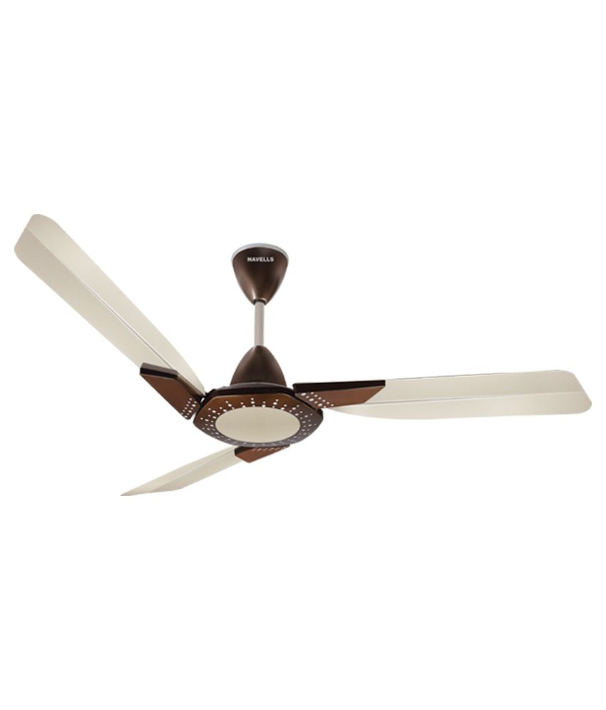 Havells 1200 Spiro Ceiling Fan Pearl Ivory Honey Price In