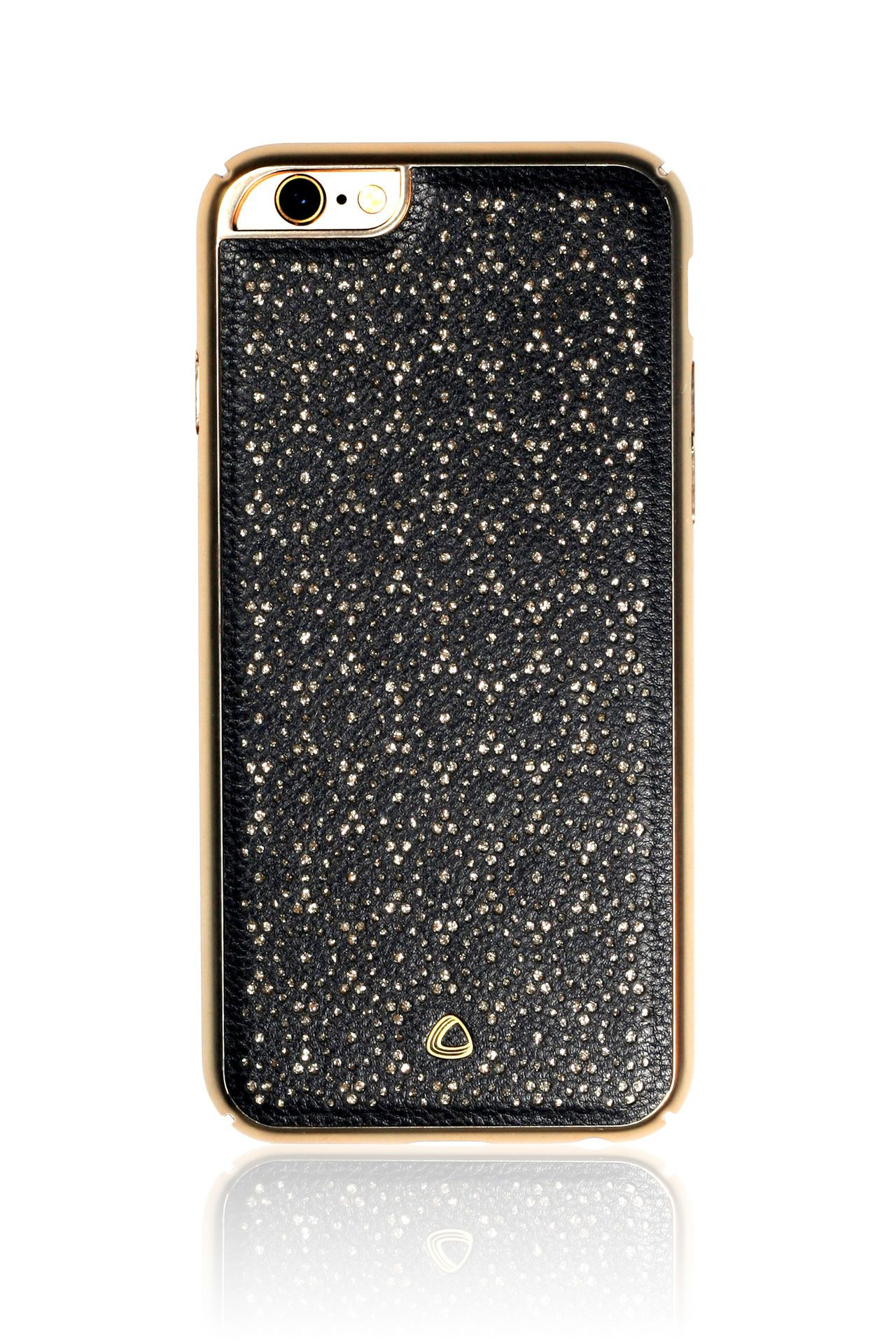 OCCA Ferragamo Series Designer Back Cover Mobile Phone Case for iPhone 6 6s Black