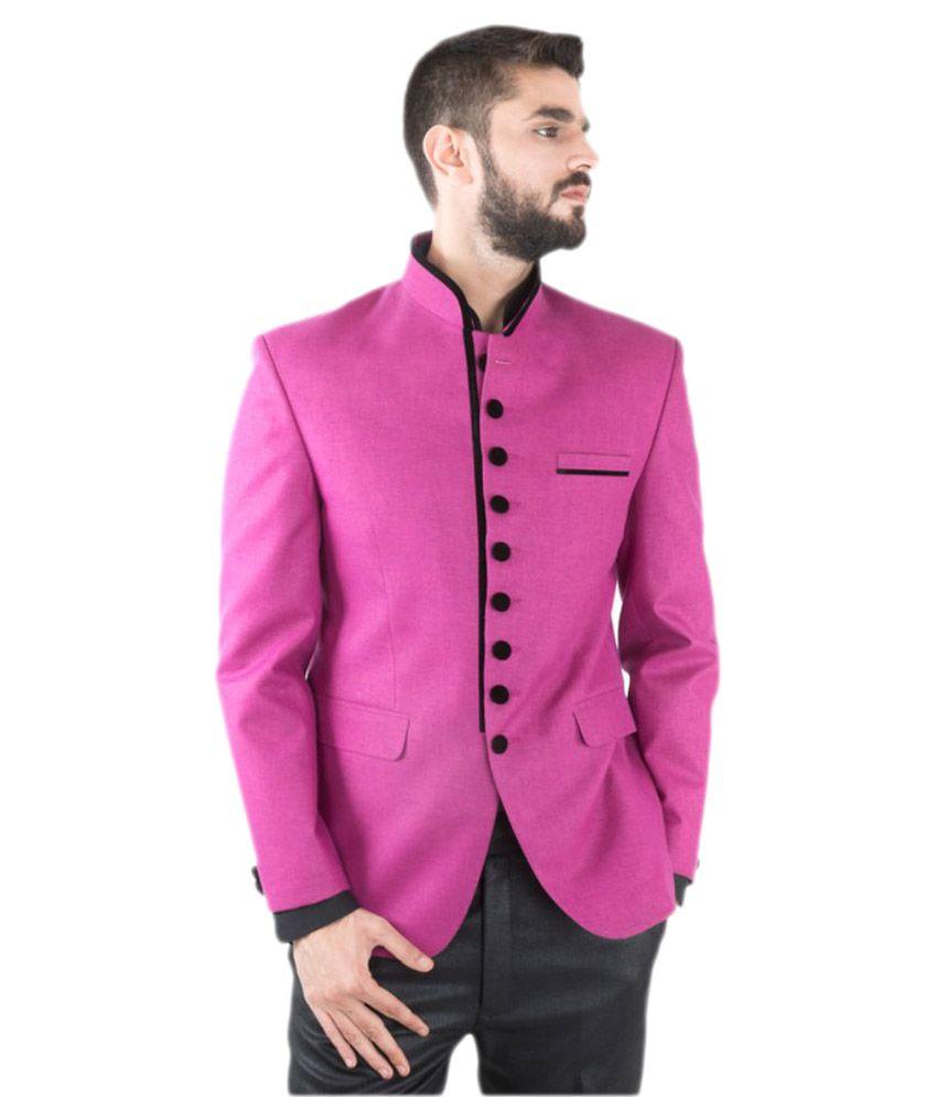 Jahanpanah Pink Party Blazers
