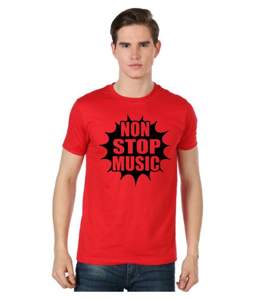 Stylexo Red Round T Shirt