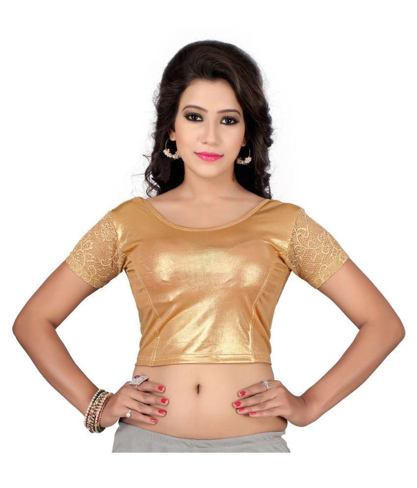 Fressia Fabrics Gold Cotton Blouses