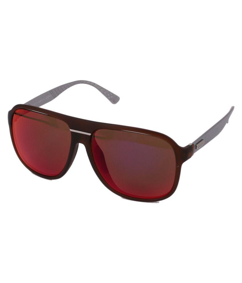 Gucci Brown Square Sunglasses ( GG1076S_JWNBJ )