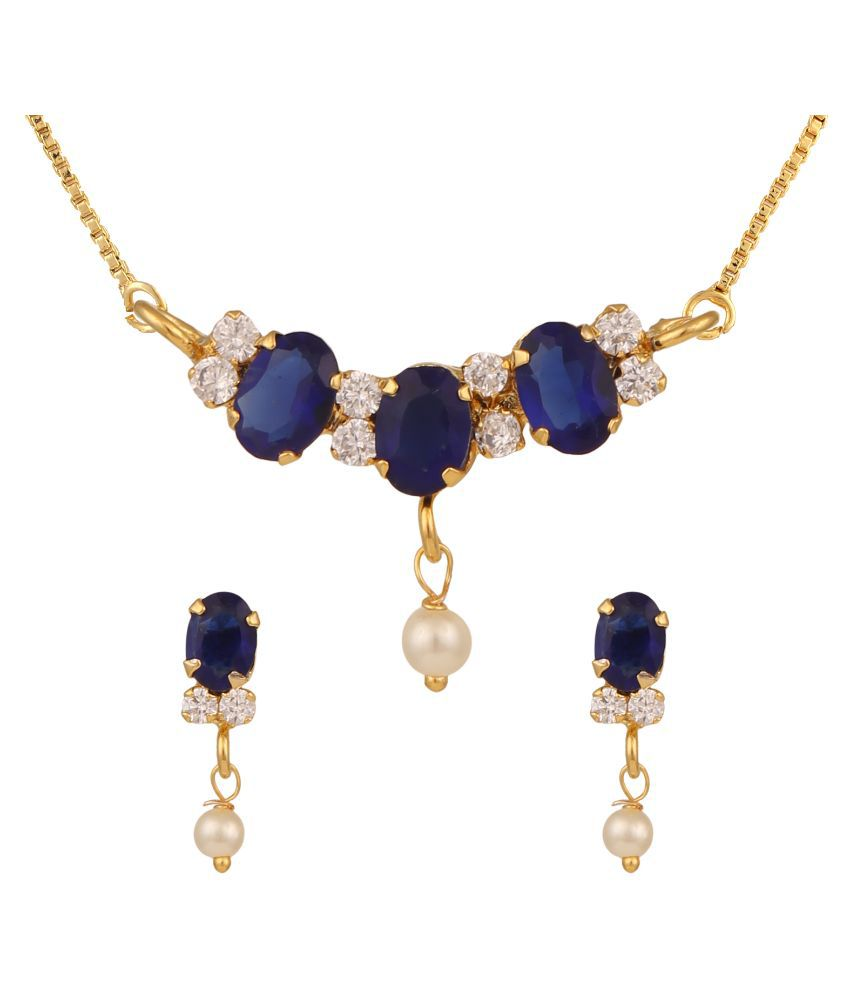 Parijaat Gold Necklace Set