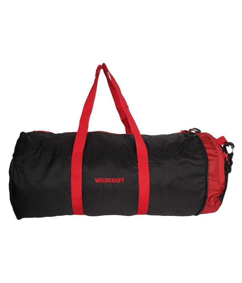 Wildcraft Polyester Black Duffle Bag
