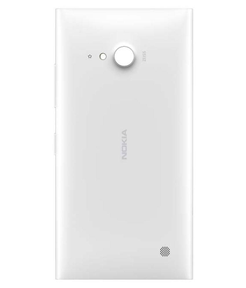 new product 65871 09232 Nokia Original Back Panel For Nokia Lumia 730 - Nfc White