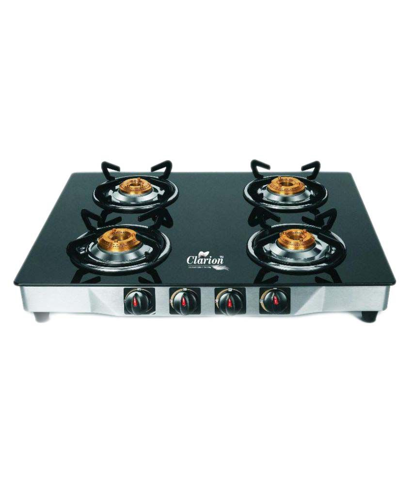 Clarion FB4001 Manual Gas Cooktop (4 Burner)
