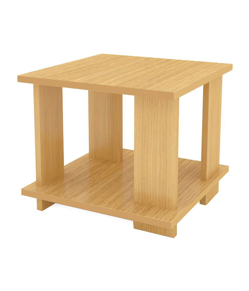 Unicos Picadily End Table In Urban Teak