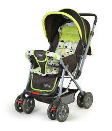 Luv Lap Baby Stroller Pram Sunshine Light Green - 18103
