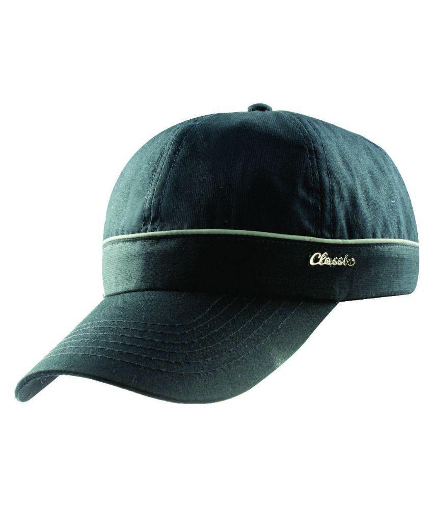 a6f5a3082bd Classic Caps Green Cotton Baseball Cap - Buy Online   Rs.