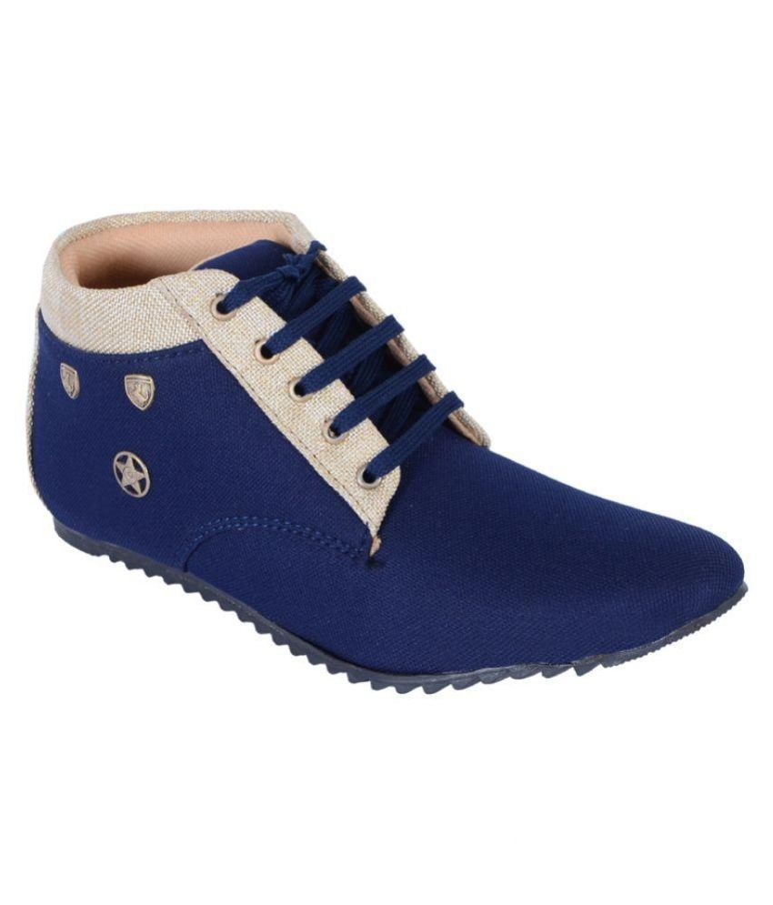 Dizaro Blue Lifestyle Shoes