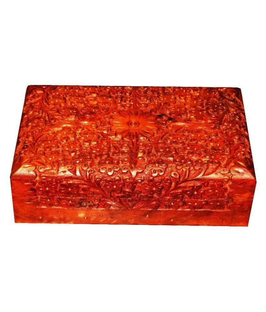 Antiqua v Group Wooden Jewellery Box