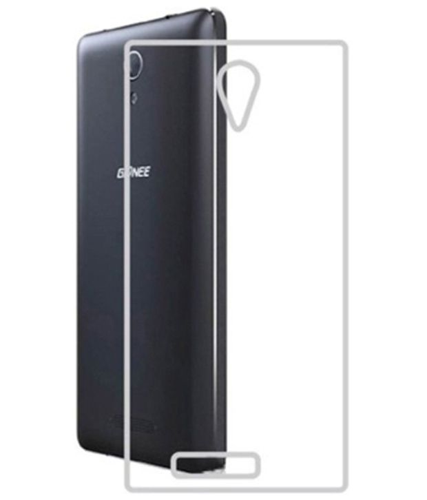 big sale 6195d b4a38 Gionee M4 Transparent Back cover