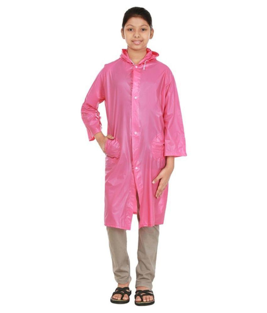 Inside Fashion Pink Rainwear
