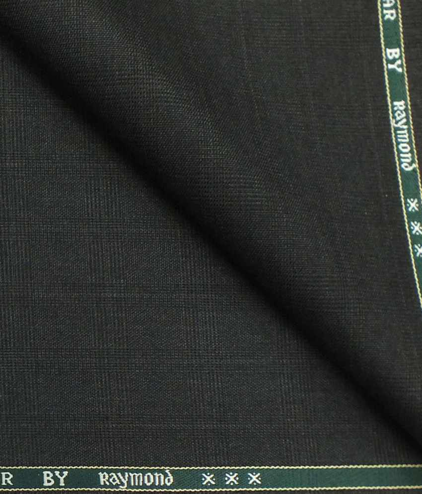 Raymond Grey Poly Viscose Unstiched Pant Fabric