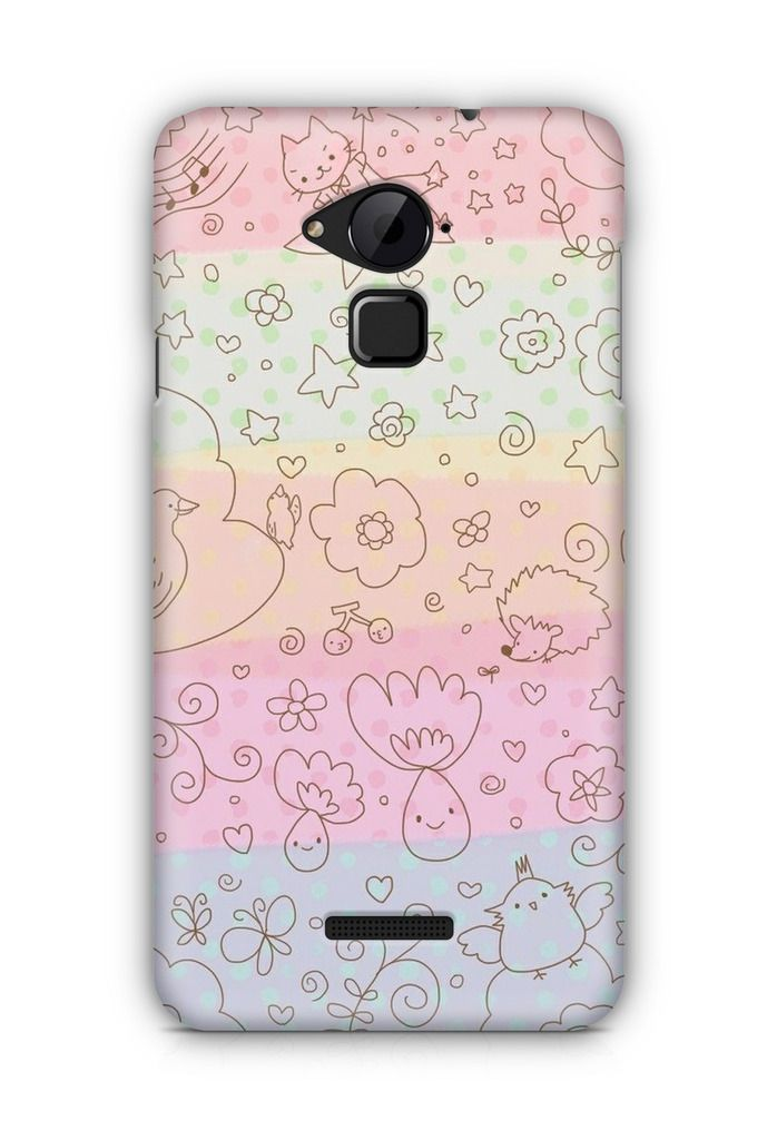 Cover Affair Cute 3D Printed Back Cover Case for Coolpad Note 3