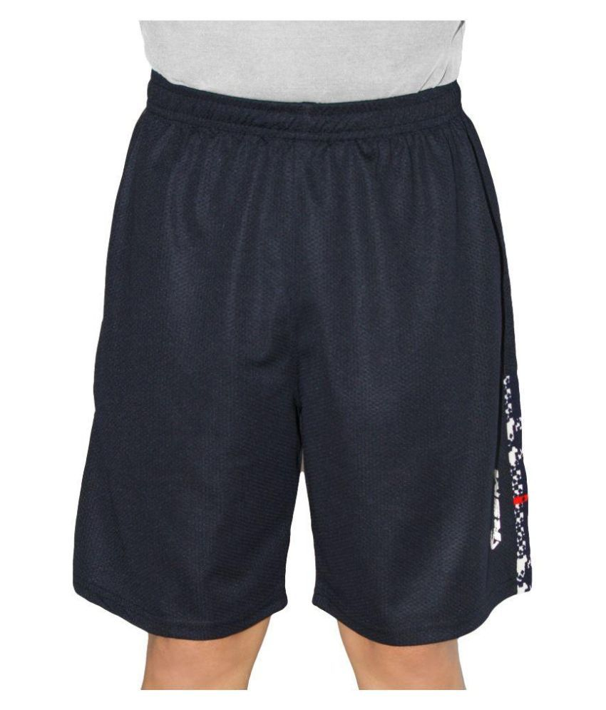 RSM Black Cotton Shorts