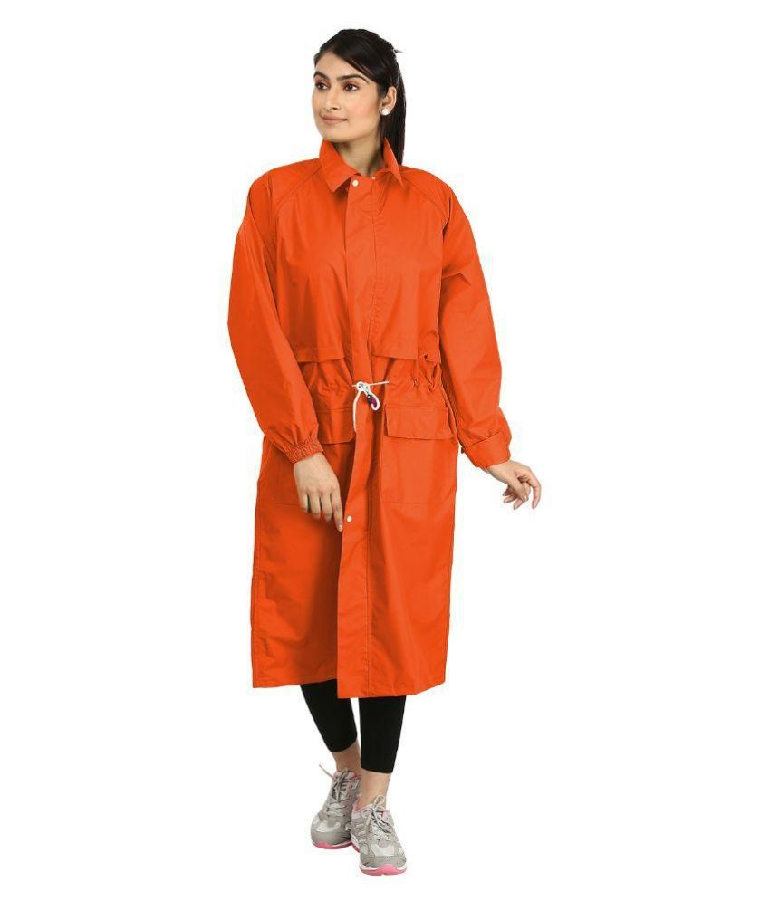 Rainfun Solid Women's Raincoat