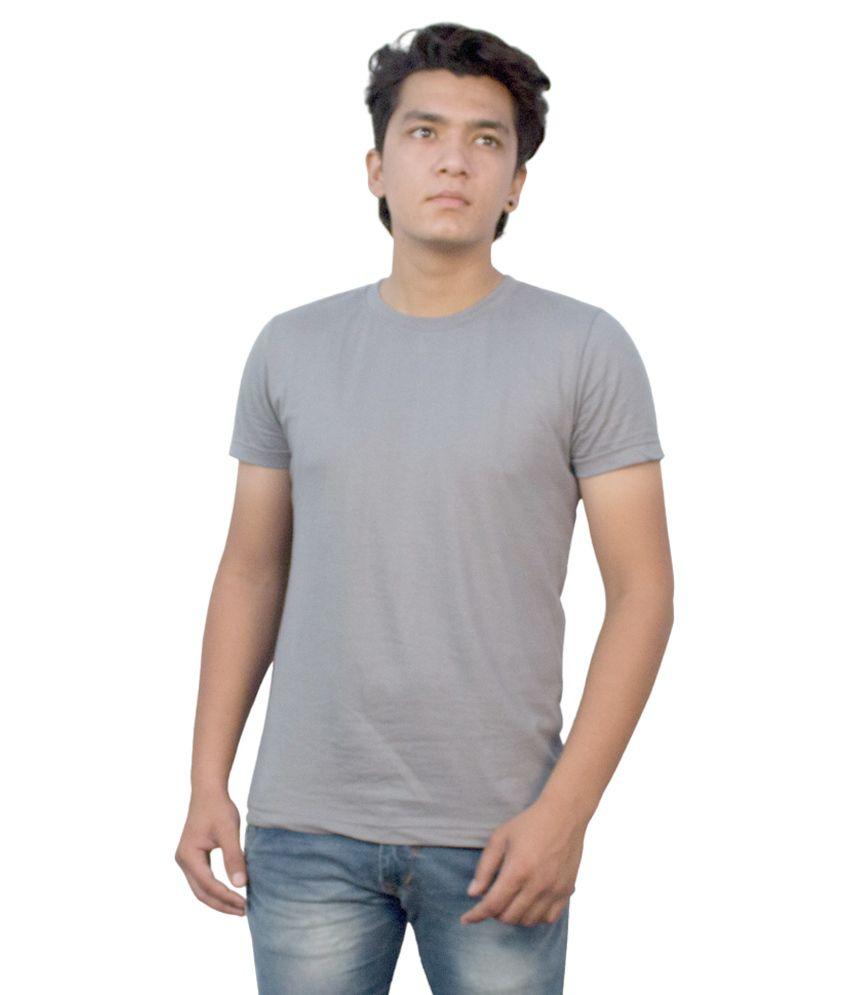 RenardFou Grey Round T Shirt