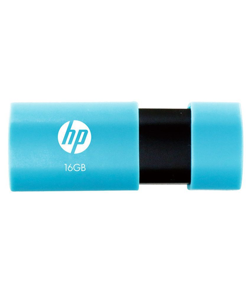 HP v152w 16 GB Pen Drive (Blue)