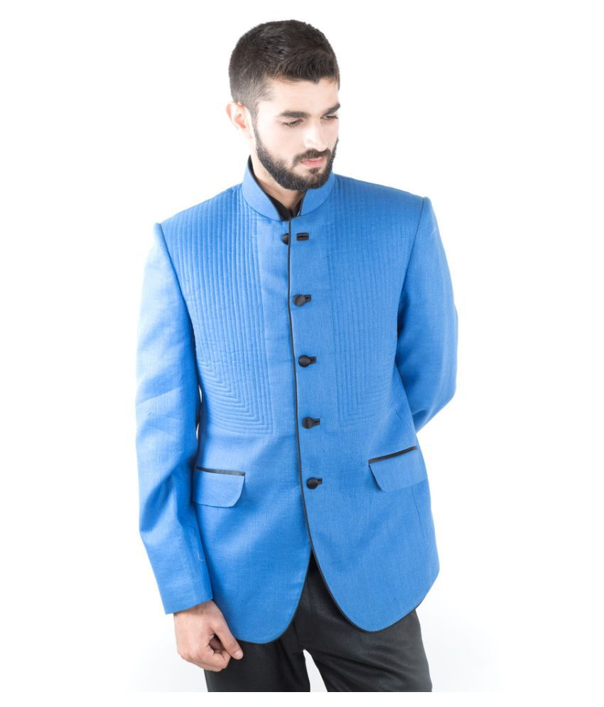 Jahanpanah Blue Wedding Blazers