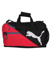 Puma Polyester Multi Color Duffle Bag