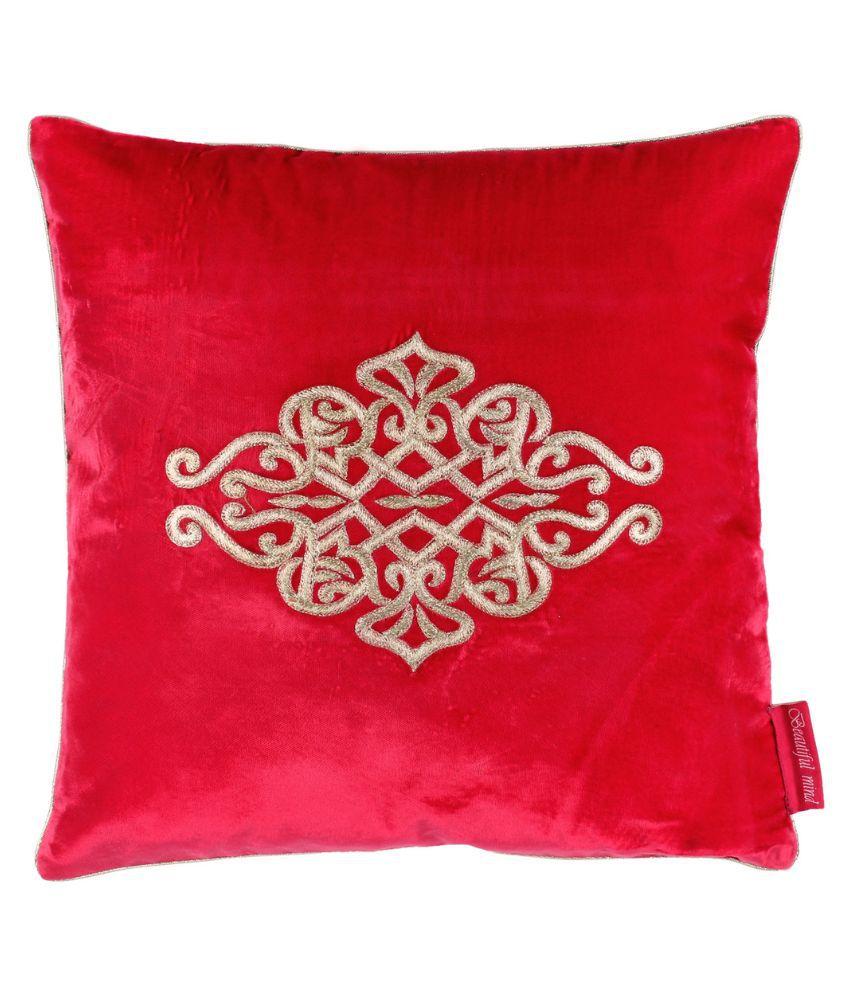 Beautiful Mind Single Velvet Cushion Covers
